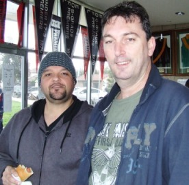 *Life Members - Sandro Capocchi (left) and Jim McKenzie